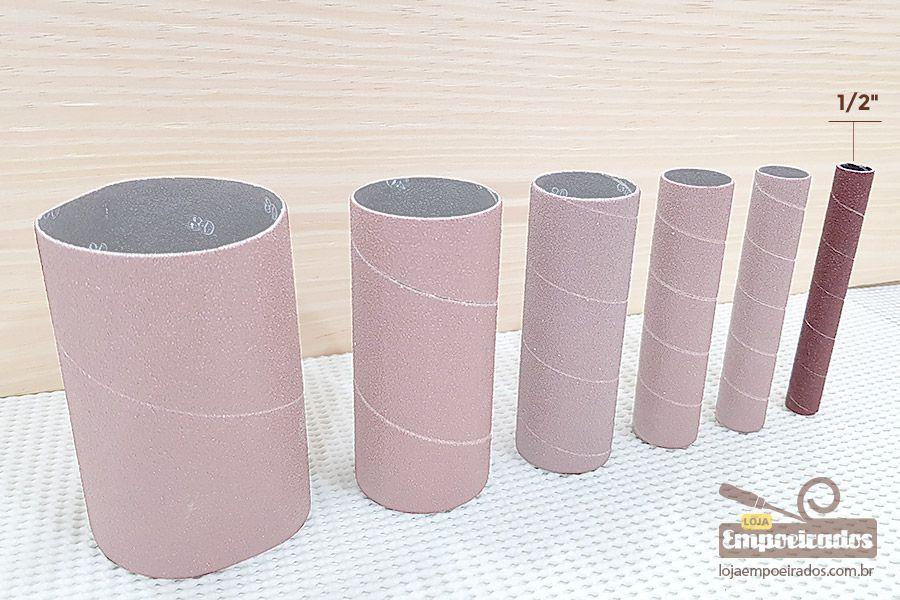 """Lixa Diâmetro 1/2"""" N80 para Lixadeira MR-41417/41390"""