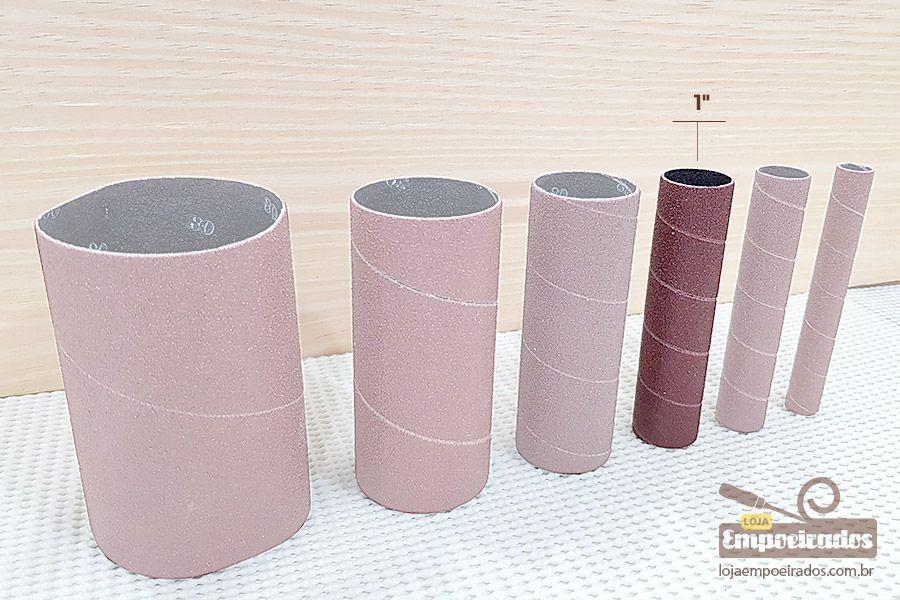 """Lixa Diâmetro 1"""" N80 para Lixadeira MR-41417/41390"""