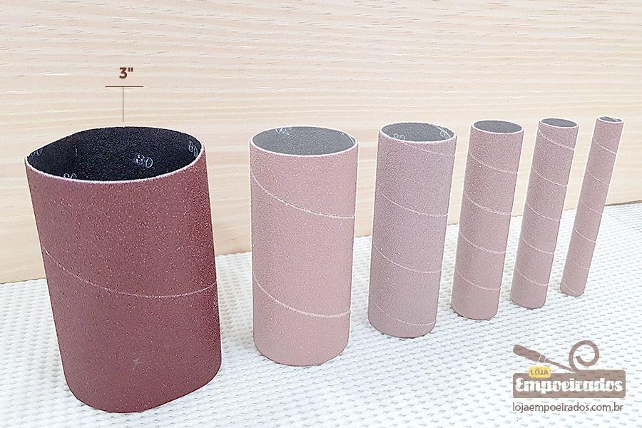 """Lixa Diâmetro 3"""" N80 para Lixadeira MR-41390"""