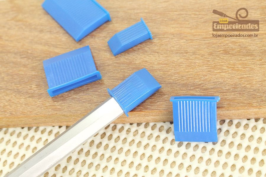 Proteção para Formões com com 12 peças - Silverline