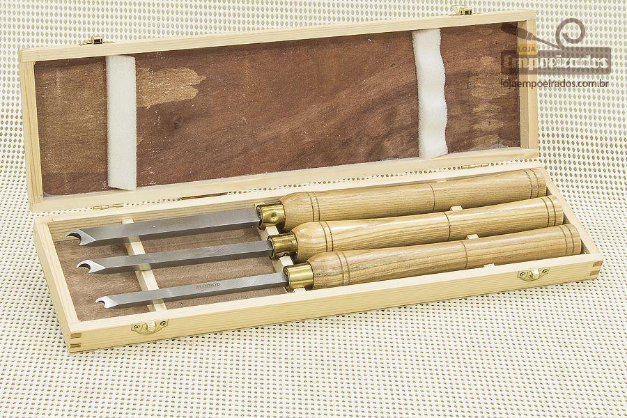 Kit de Formões para Usinar Anéis - Manrod MR-2907