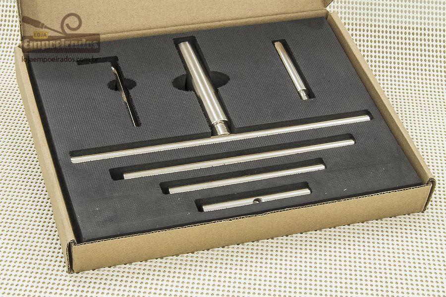 Kit de Apoio de Ferramentas Cilíndrico para Torno - Manrod MR-2911