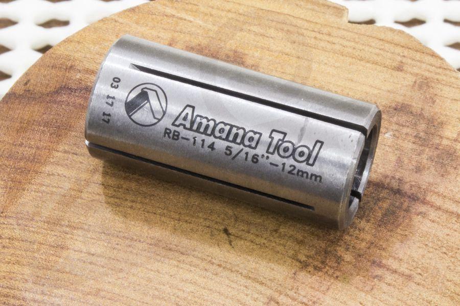 Bucha Redutora para Tupia Amana Tool - 12mm para 8mm [RB-114]