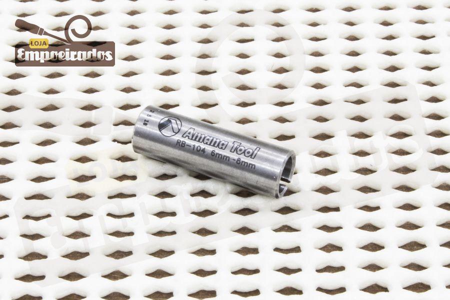 Bucha Redutora para Tupia - 8mm para 6mm [RB-104]