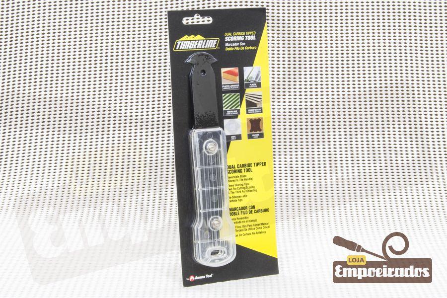 Cortador e marcador duplo com pontas de carboneto Amana - 3500