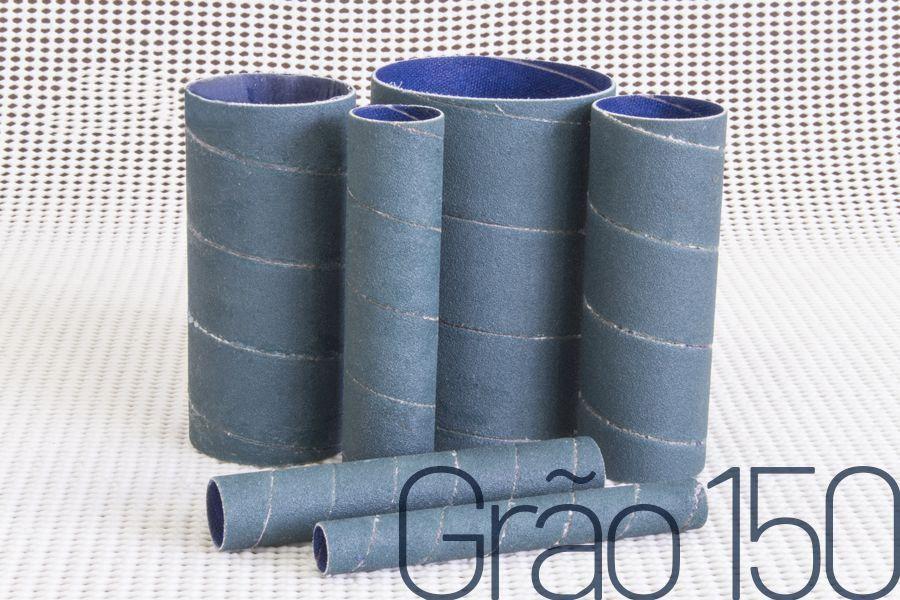 Kit de lixas para lixadeira Manrod Eixo MR-41390 - #150 - 06 unid.