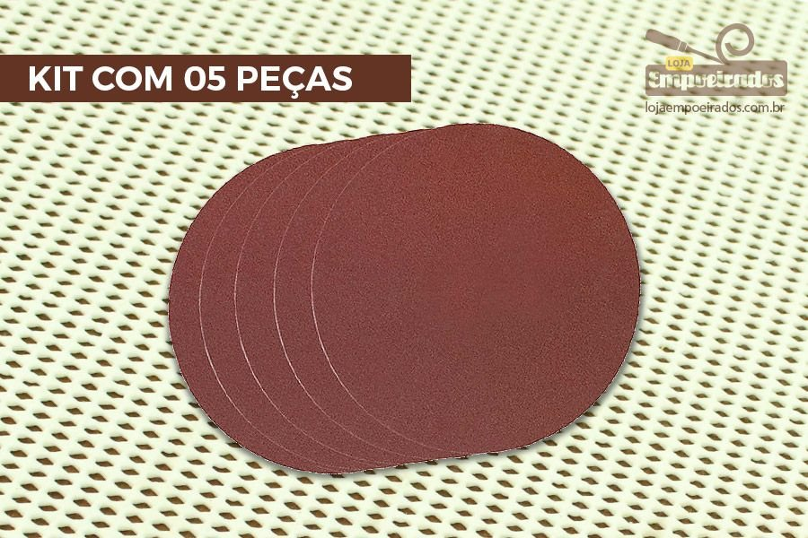 Disco De Lixa para Lixadeira Proxxon TG125/E Grão 240 - 5 peças [28164]