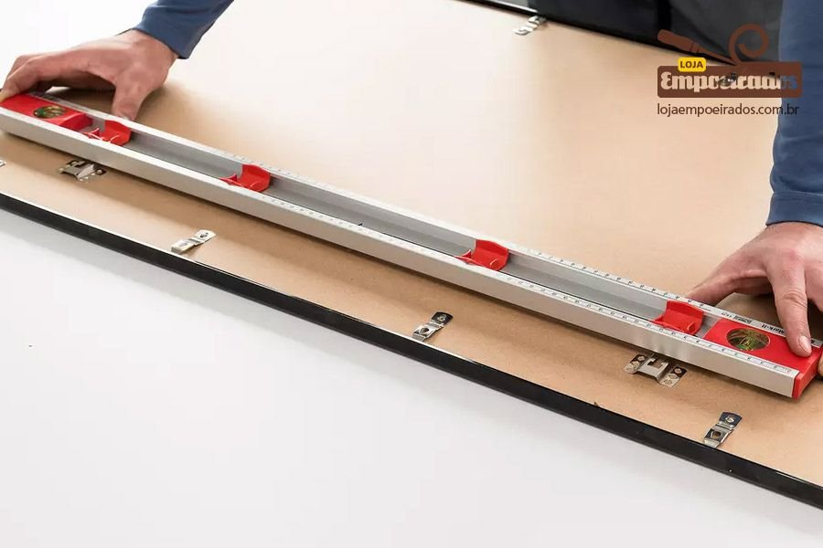 Nível com Gabarito de Furação Mark-it 80cm - SOLA