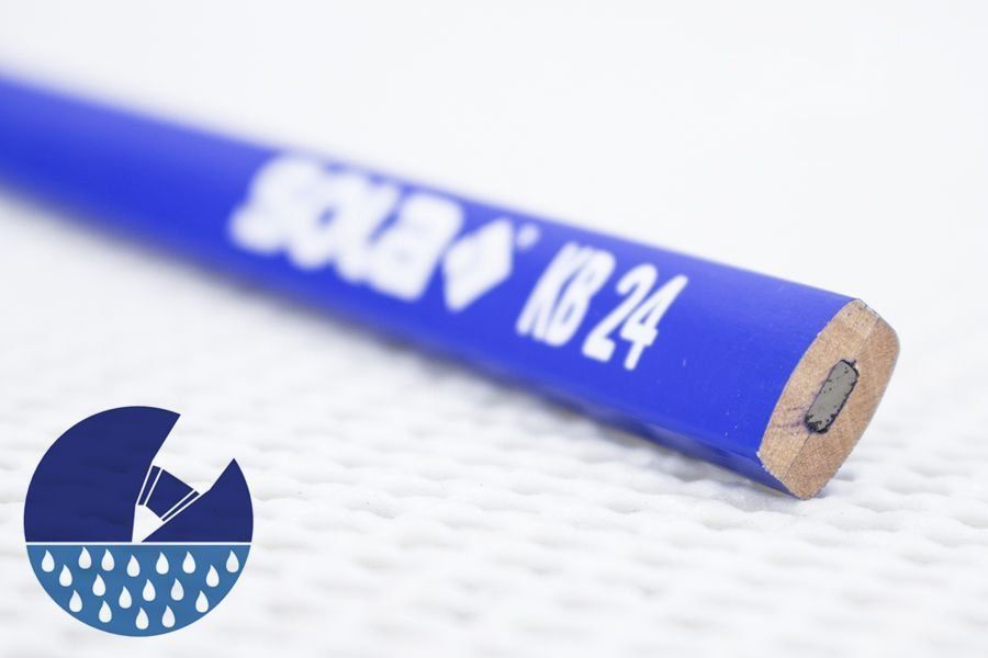 Lápis Cópia SOLA para Madeira Molhada - AZUL