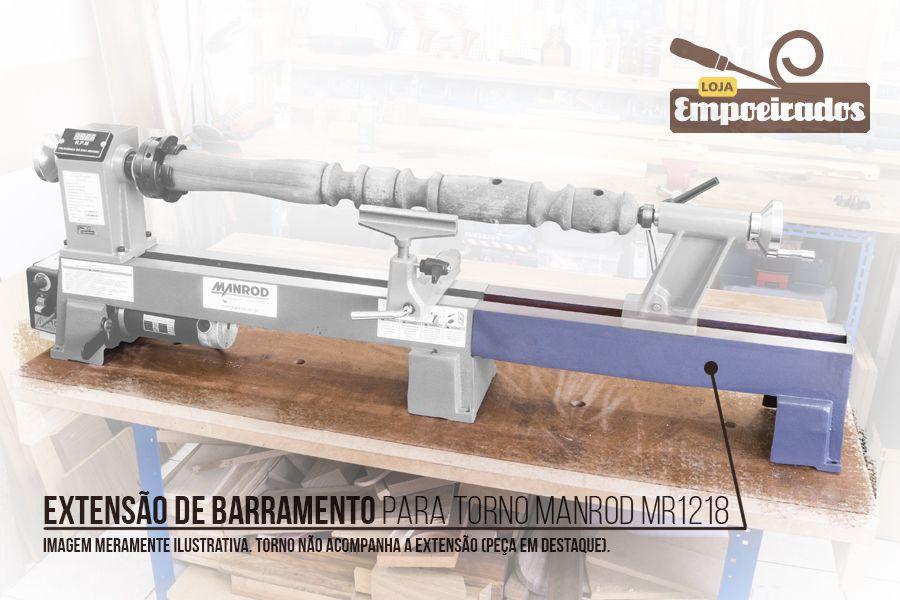 Extensão de barramento para torno MR 1218 - Manrod