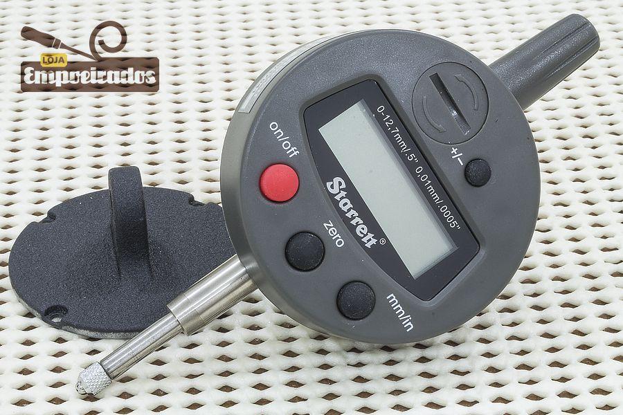 Relógio Comparador Digital Starrett 3600M-5