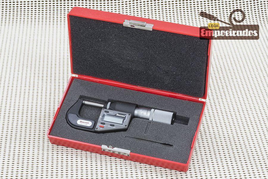 Micrômetro Externo Digital Starrett 3732MEXFL / de 0 a 25mm
