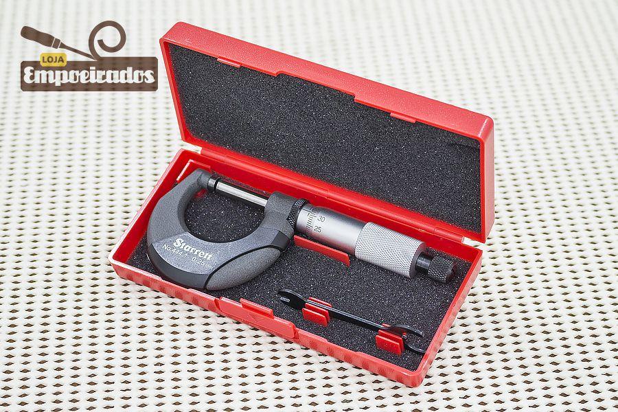 Micrômetro Externo Starrett 444.1MXRL-25 / de 0 a 25mm