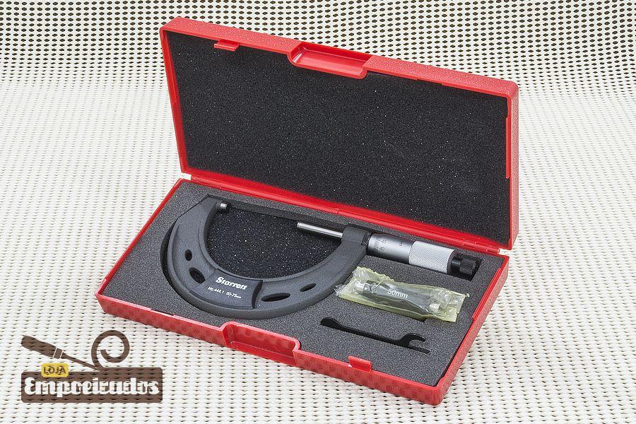 Micrômetro Externo Starrett 444.1MXRL-75 / de 50 a 75mm