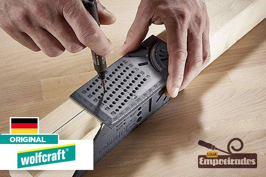 Esquadro 3D Mitra 5208 - Wolfcraft