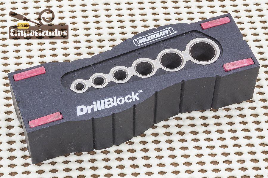 Gabarito para Furação Drill Block Métrico - Milescraft