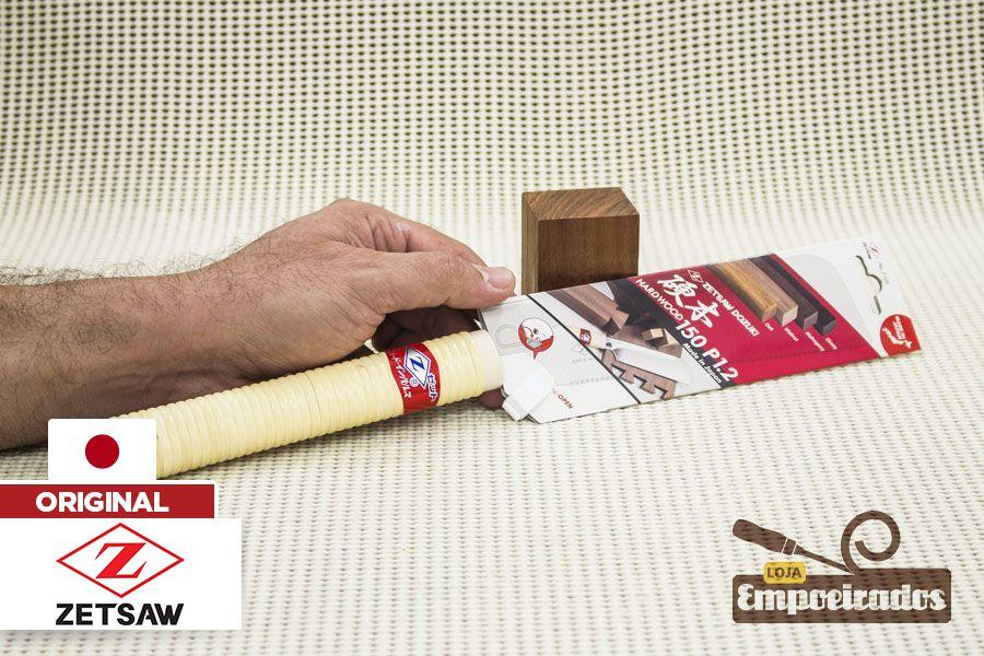 Serrote Japonês Dozuki ZetSaw Cross/Rip Cut Madeira Dura - 150mm