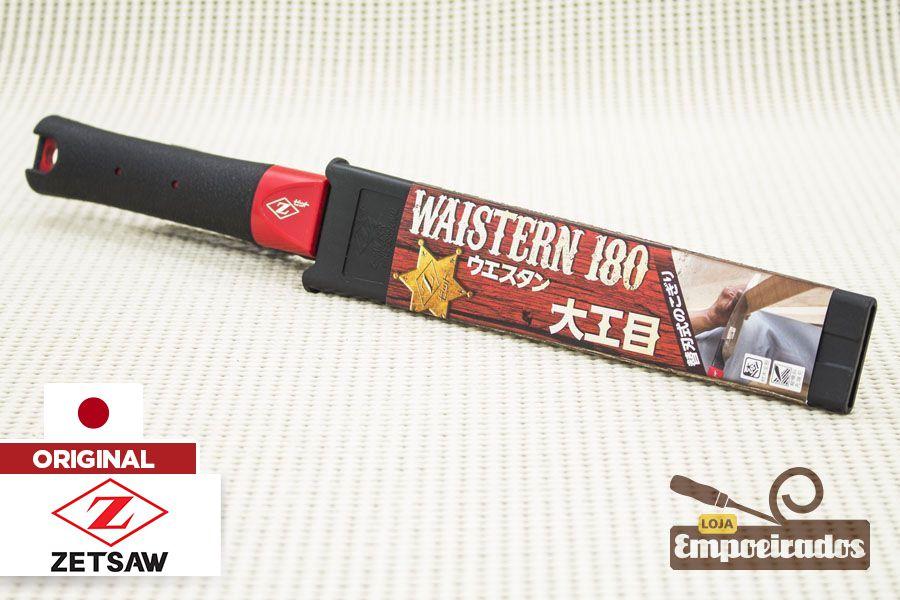Serrote Japonês Waistern ZetSaw Cross/Rip Cut Madeira - 180mm