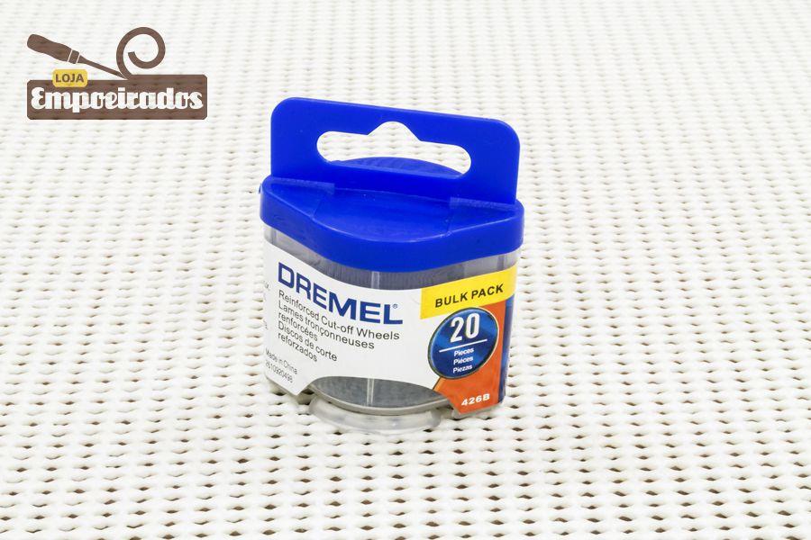 """Disco Fibra de Vidro 426B - 1-1/4"""" - 20 un - Dremel"""