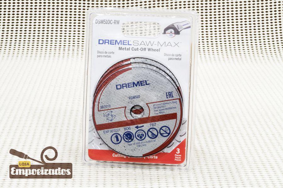 Disco de Corte Saw-Max Metais - DSM510 - 3 un - Dremel