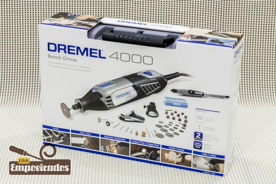 Microretífica Dremel 4000 3/36 - 127V