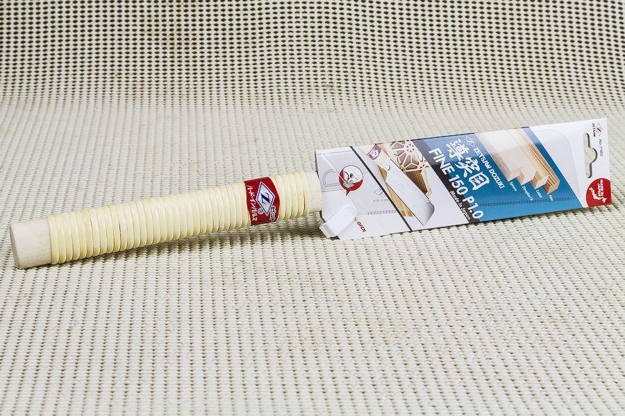 Serrote Japonês Dozuki ZetSaw Cross Cut Super Fino - 150mm