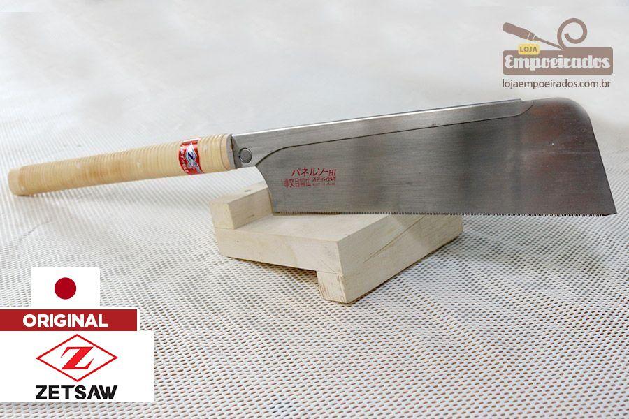 Serrote Japonês Dozuki ZetSaw Cross Cut Super Fino Lâmina Larga - 240mm