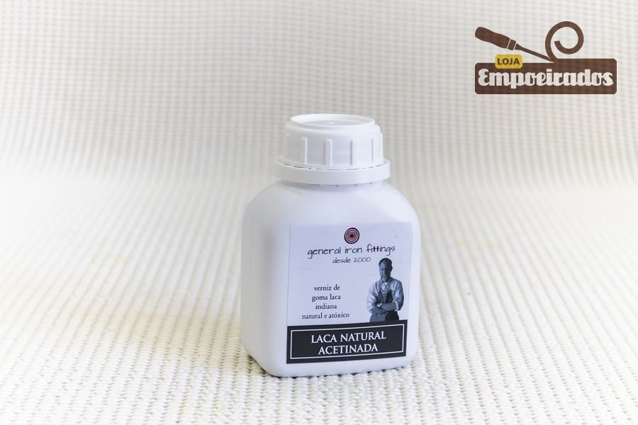 Laca natural acetinada - 250ml