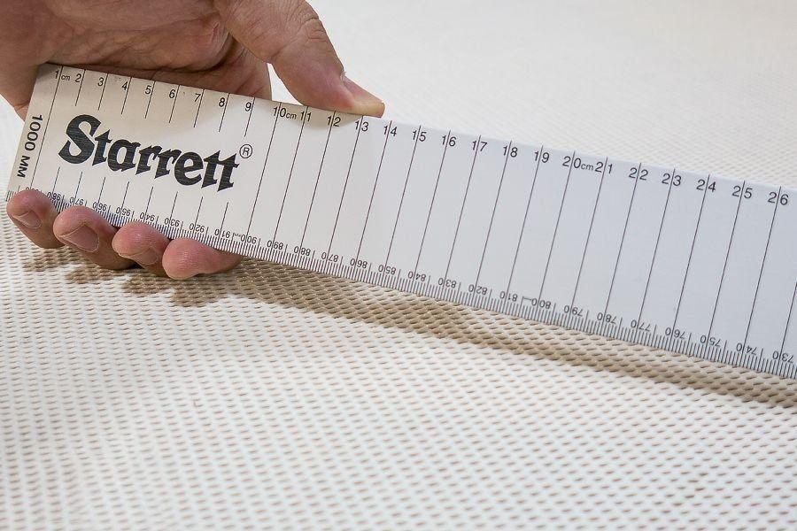 Escala ou Régua de Alumínio Starrett AMSE - 1000mm (1 metro)