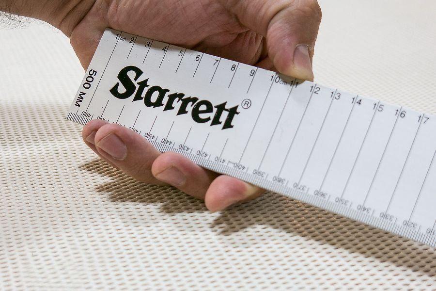 Escala ou Régua de Alumínio Starrett AMSE - 500mm (0,50m)
