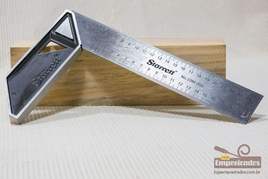 Esquadro de Carpinteiro Starrett - 200mm