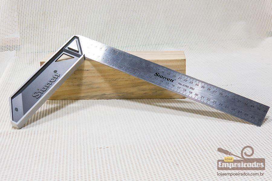 Esquadro de Carpinteiro Starrett - 300mm