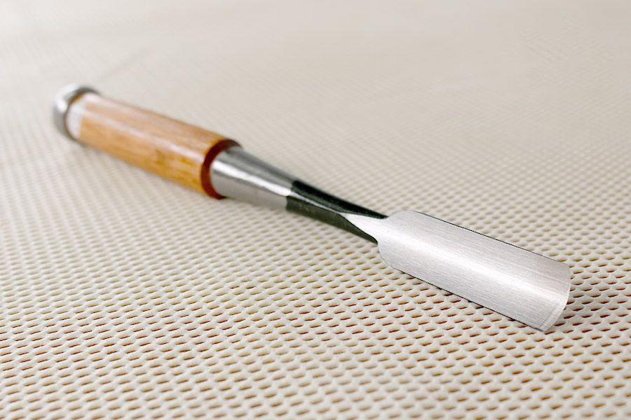 Formão Goiva Japonês de Madeira TopMan - 18mm
