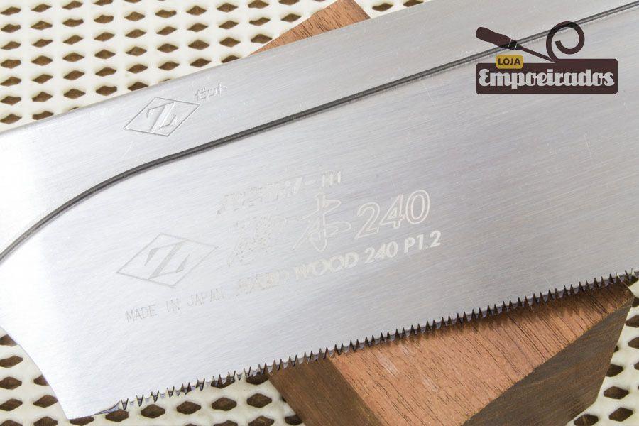 Lâmina de Reposição para Serrote Japonês Dozuki Cross/Rip Cut Madeira Dura 240mm - ZetSaw
