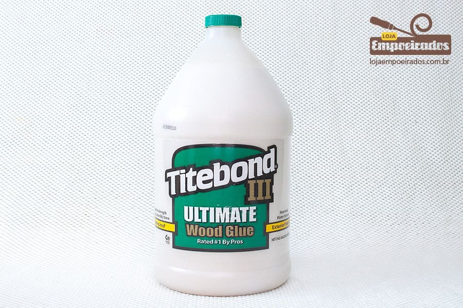 Cola para Madeira Titebond III Ultimate Wood Glue - Galão - 4,1kg