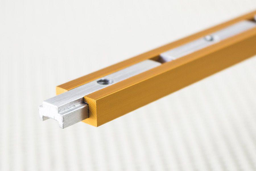 Castanha Interna para Trilho T-Track Soster & Causo 5cm - 4 peças