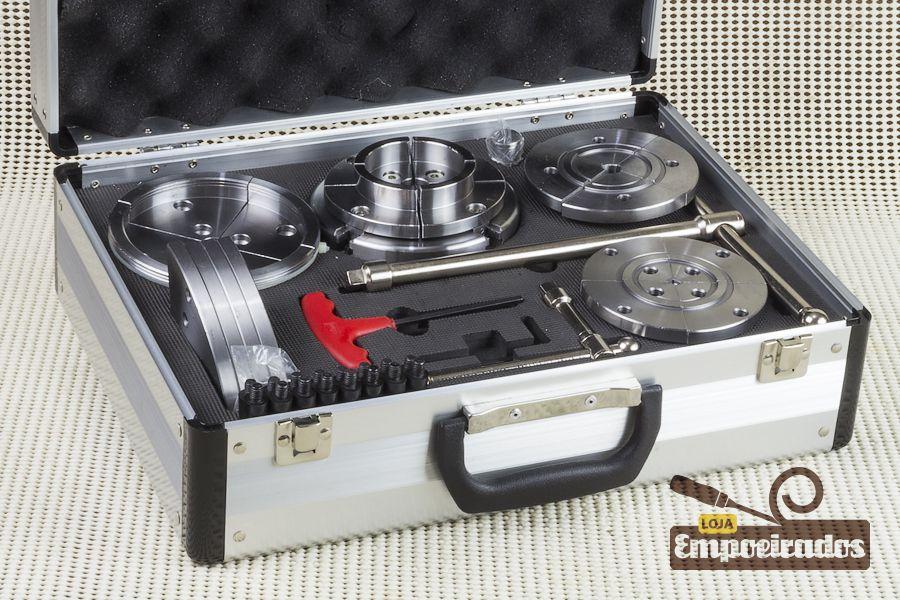 Kit Placa 110mm + 5 Tipos de Mordentes - Manrod MR-2891