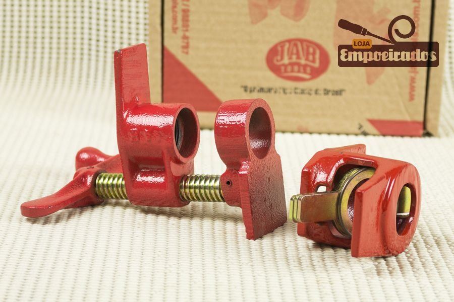 "Pipe Clamp Ø 3/4"" Grampo Tubular sem Tubo - Jab Tools"