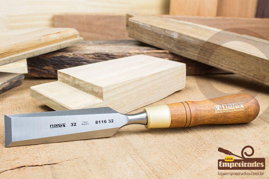 Formão Borda Chanfrada 32mm - WL PLUS Premium - Narex
