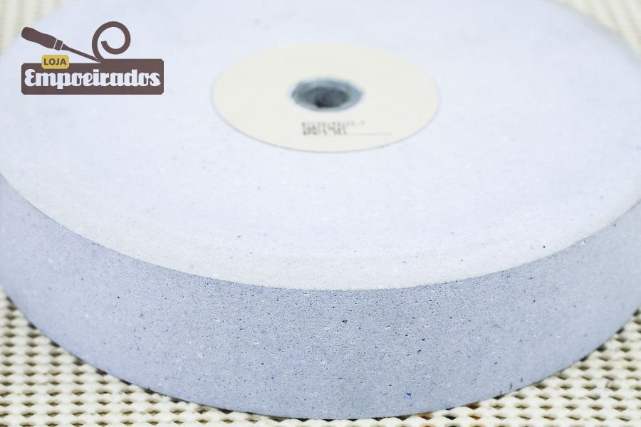 Rebolo Abrasivo 8pol - Grana 400 - Manrod - MR-6#400