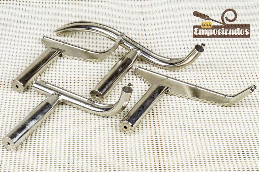 Kit de Apoio de Ferramentas Curvo para Torno Haste de 25mm - MANROD MR-2915