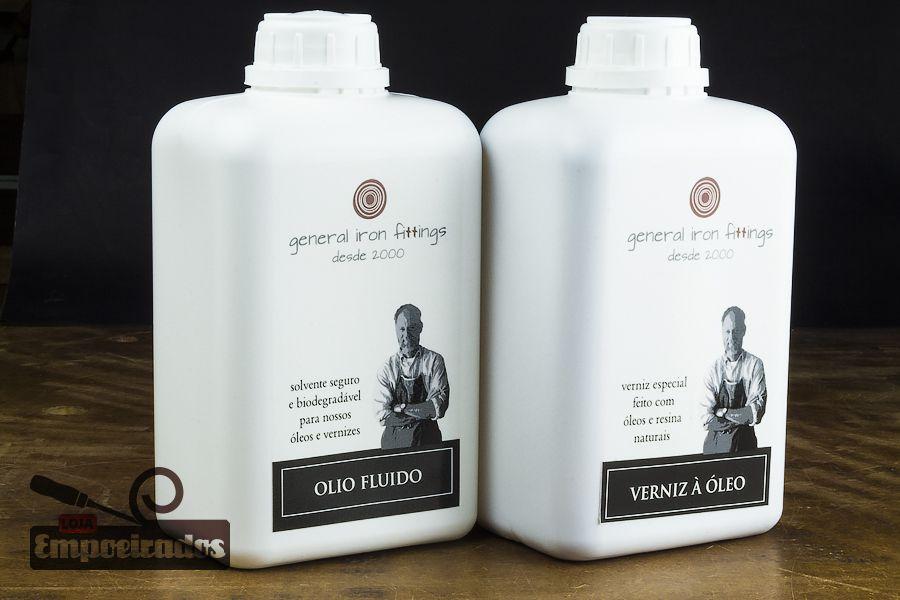 Kit Utensílios de Cozinha - Verniz à Óleo + Olio Fluido General Iron Fittings  - Grande