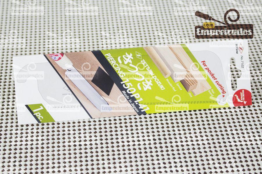 Lâmina de Reposição para Serrote Japonês Dozuki Cross/Rip Cut Abertura Slot 150mm - ZetSaw