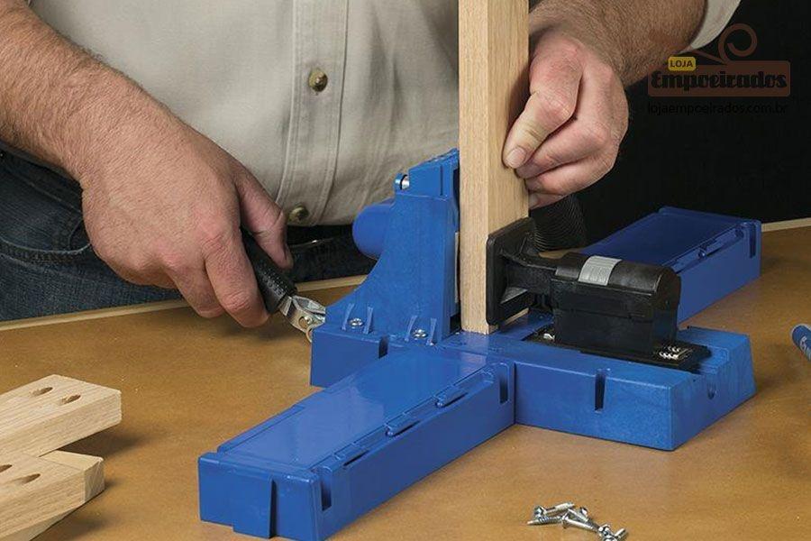 Gabarito Completo de Furação Pocket Hole Jig Métrico - Kreg K5MS Master System