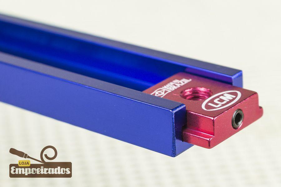 Castanha Interna para Trilho T-Track Largo LCM + Chave Alen - 4 peças