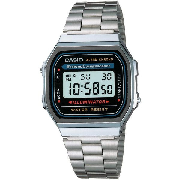 Relógio Casio Vintage A-168WA-1 Masculino