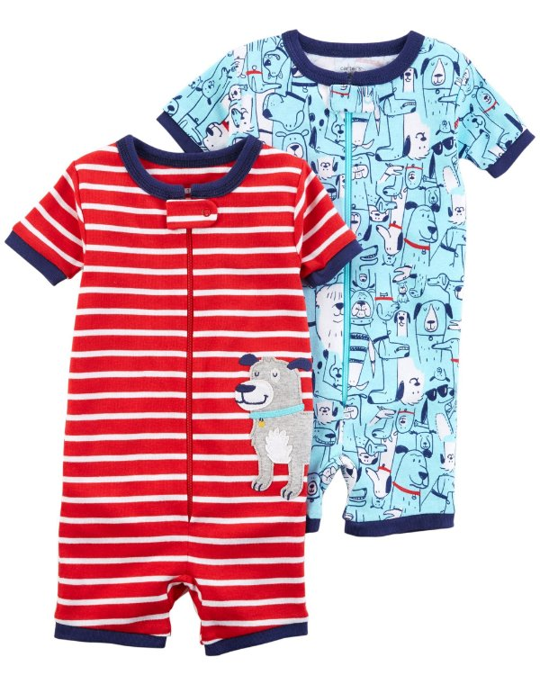 C2- kit 2 Rompers-Carter's
