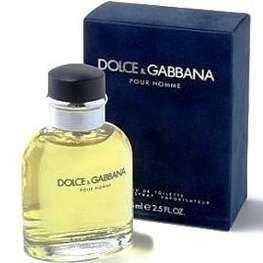 PERFUMES IMPORTADOS  ''DOLCE & GABBANA POUR HOMME , 125 ML, MASC.  EAU DE TOILETTE