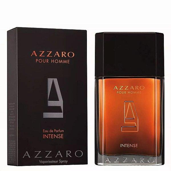 PERFUMES IMPORTADOS ''AZZARO POUR HOME '' EAU DE PARFUM INTENSE, 100 ML- ORIGINAIS ,COM SELO DE IMPORTAÇÃO.