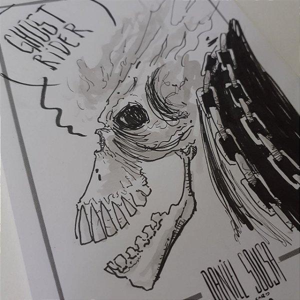 Motoqueiro Fantasma - Sketch A6